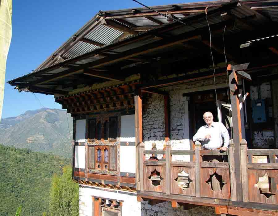 Village homestays visit
